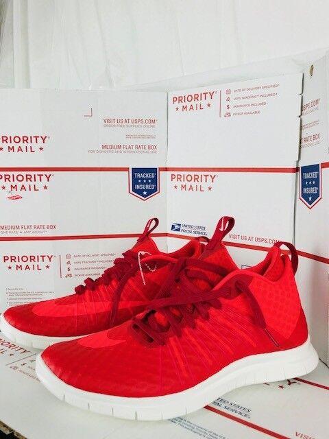 Nike Mens Free Hypervenom 2 2 2 FS GYM RED  805890 600 Size 11 e47b4d