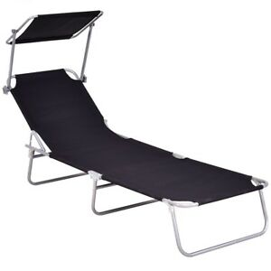 Image Is Loading Relax Foldable Beach Chair Chaise Lounge Bed Recliner