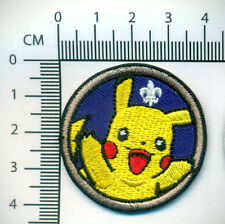 SCOUTS SPOOF PIKACHU BADGE - ACTIVITY SIZE