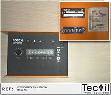 Controleur de soudure BOSH D-6120 TYP E 25.00 DYE | Welding controller SPS PLC