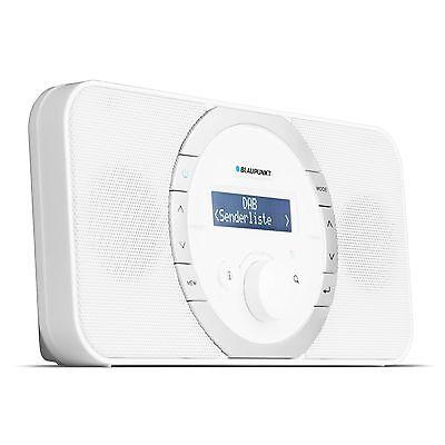 BLAUPUNKT Küchenradio RXD 120 WH MW UKW Radio mit DAB 1,2 Watt RMS tragbar PLL