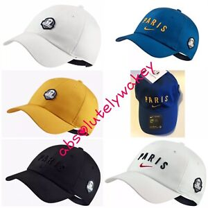 competitive price ba635 8b04a Details about Nike Ryder Cup PARIS Energy Pack Heritage86 Cap Unisex  Adjustable Hat One Size