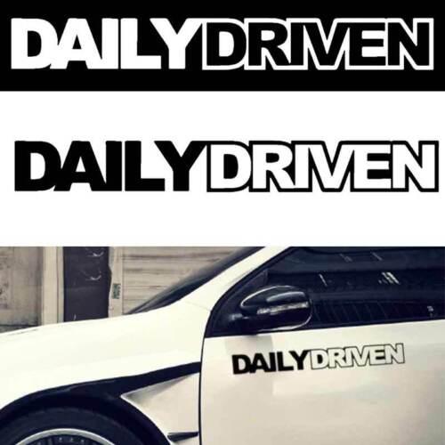 Car Sticker Daily Driven JDM Euro Illest Drift Vinyl Decals Truck Window Bumper