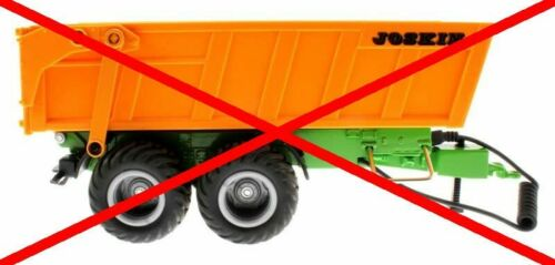 Ladewand-Erhöhung für Siku Control 32 Anhänger Joskin 6780