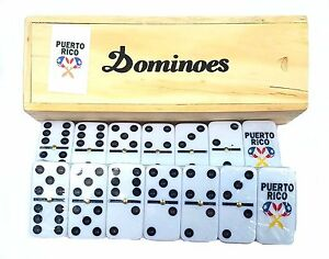 Professional Puerto Rico Flag Double Six Dominos Dominoes Boricua Rican SHAKER