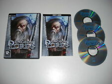 DUNGEON LORDS Pc Cd Rom b RPG Role Playing - FAST DISPATCH