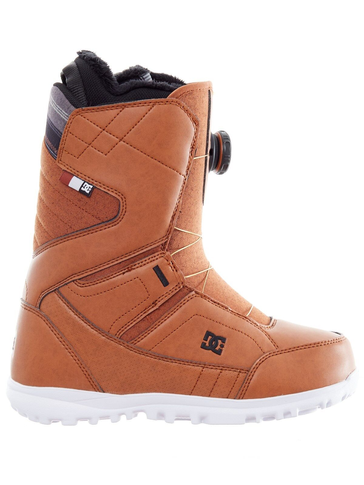 2018 DC Women's Search Boa Snowboard Boots, Brown, Many Sizes, Brand NEW