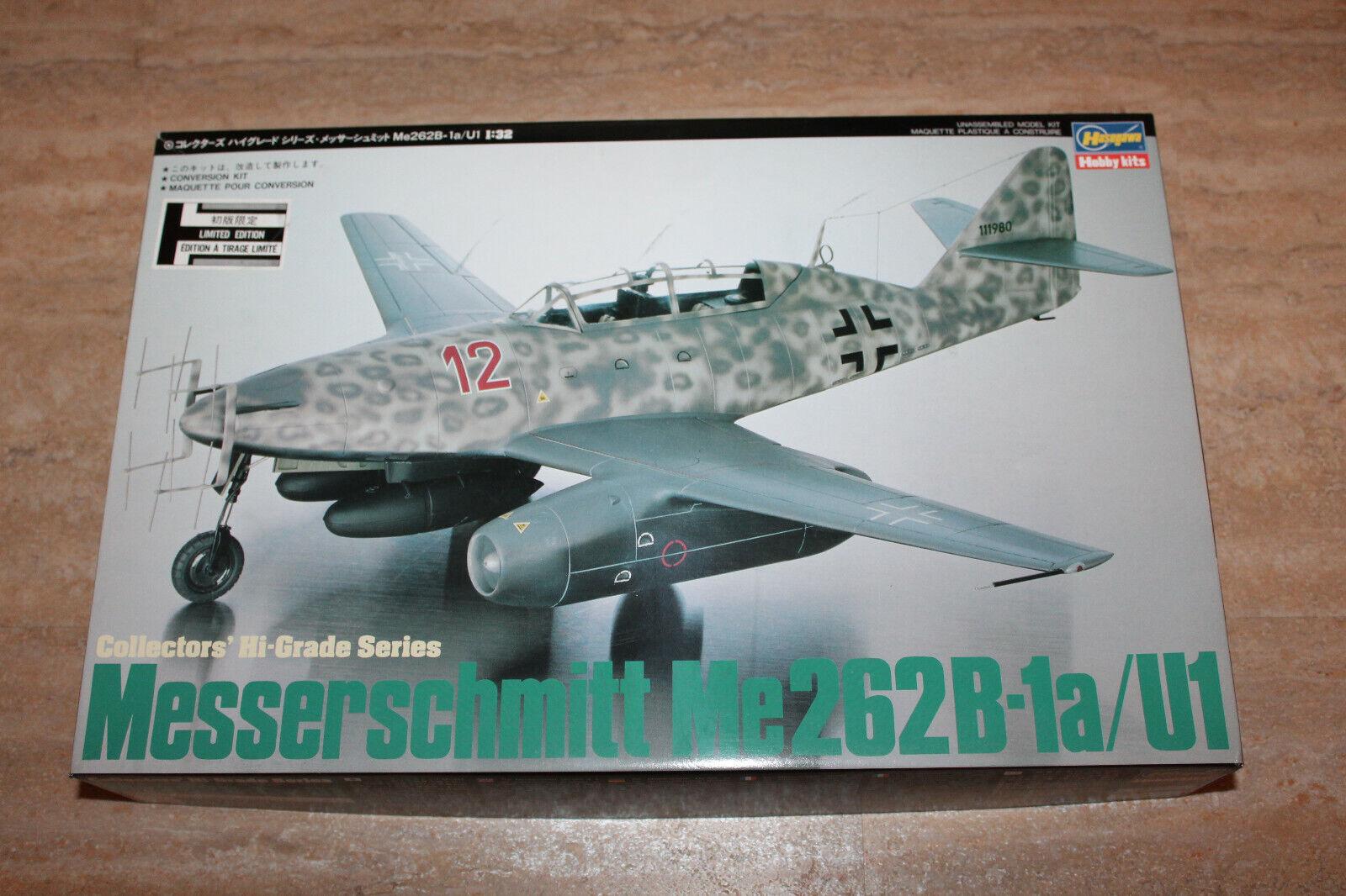 Hasegawa CH005 Messerschmitt Me262B-1a   U1 1 32 NEU mit OVP