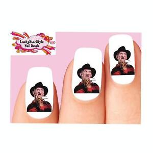 Waterslide Nail Decals Set of 20 - Halloween Freddy ...