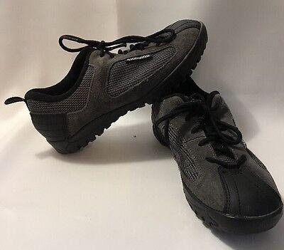 SHIMANO SH-MT20D Cycling Shoes Gray and Black Men Size 7 EU 40