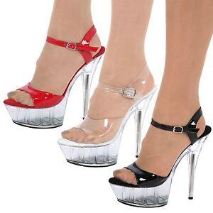 Tacones Zapatos Meseta mujer Sandalias de aguja de altos tacón de Kc3Jl1FT