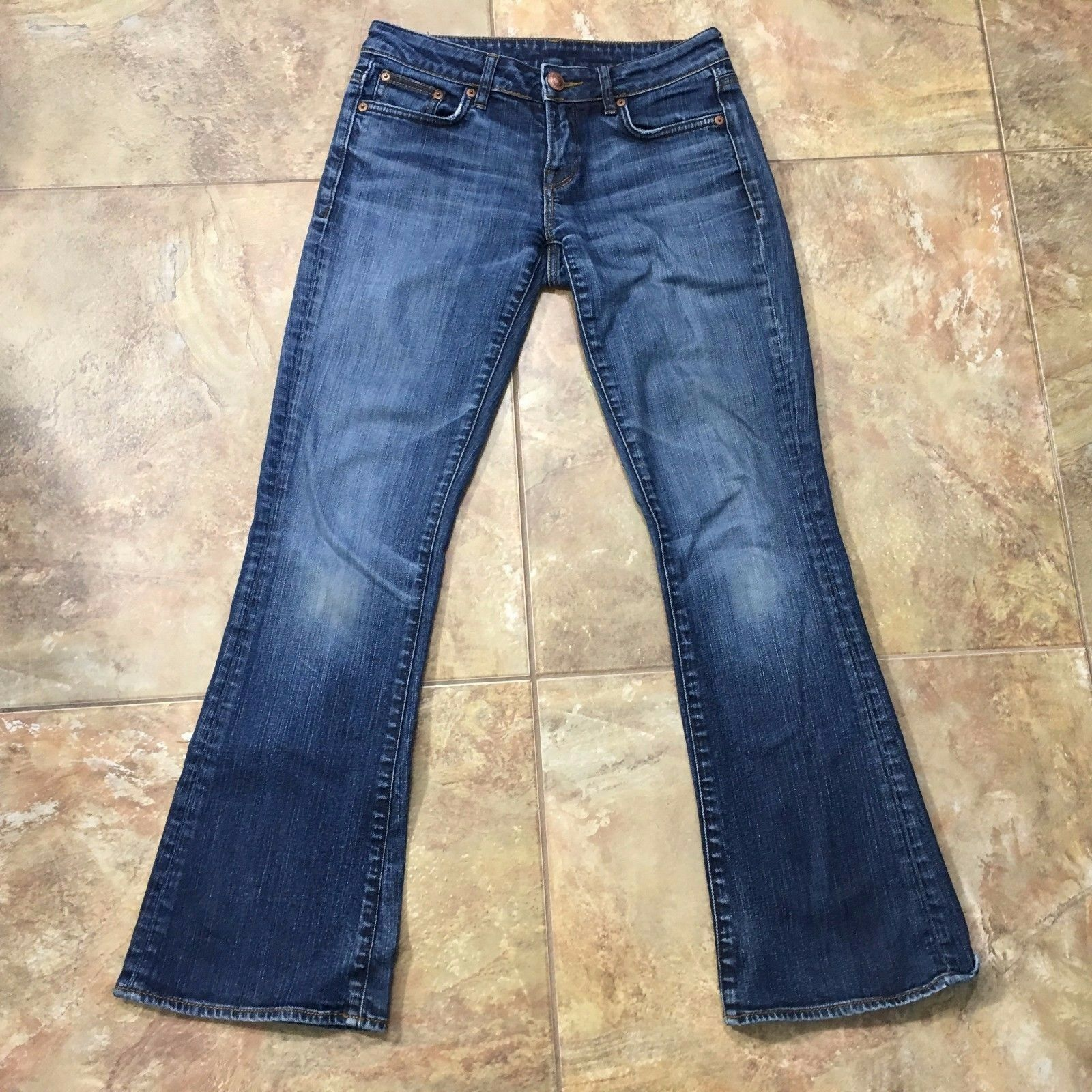 BUFFALO DAVID BITTON Felow Mid Rise Stretch Flare Jeans Size 27x29