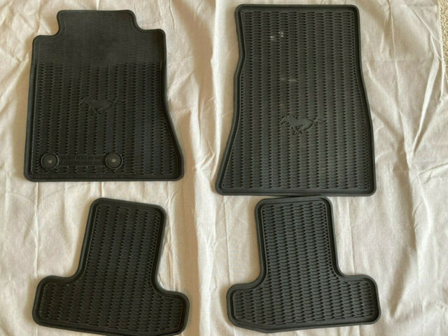 OEM Used 2015-2020 FORD Mustang Front & Rear All Weather ...