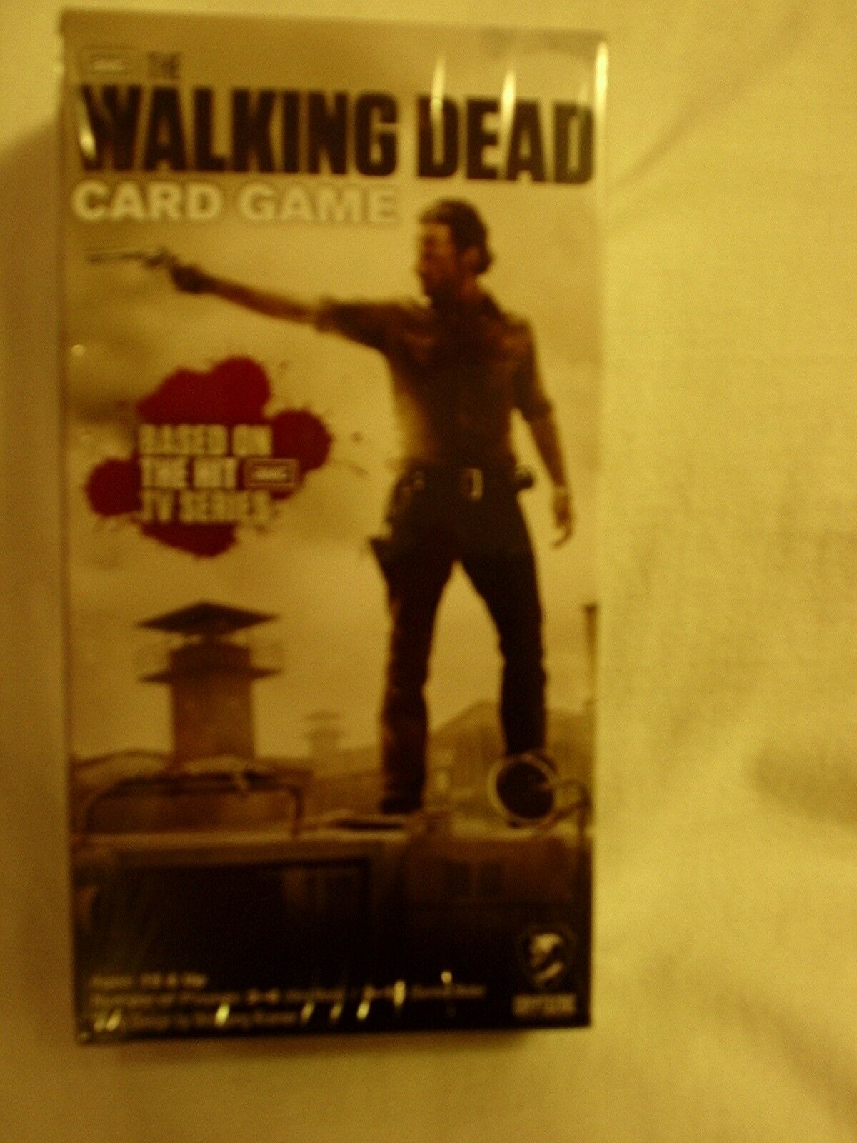 The Walking Dead Card New Game.  New Card and sealed 851066