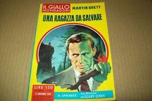 IL-GIALLO-MONDADORI-615-MARTIN-BRETT-UNA-RAGAZZA-DA-SALVARE-13-NOVEMBRE-1960-OK