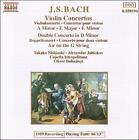 Bach: Violin Concertos; Double Concerto; Air on the G String (CD, Jun-1992, Naxos (Distributor))