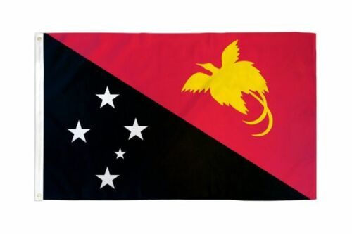 3x5 Papua New Guinea Flag Country Banner New Indoor Outdoor