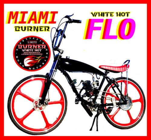 """COMPLETE DIY 2-STROKE 66CC//80CC MOTORIZED BICYCLE KIT WITH 29/"""" GAS TANK BIKE!"""
