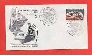 FDC-Journee-De-Sello-1966-La-Grabado-Un-Sello-Correo-721