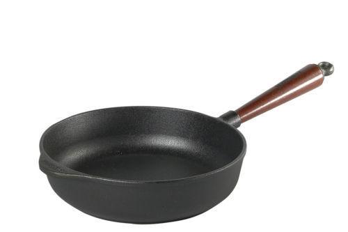 Skeppshult schmorpfanne induction en fonte poêle 24 cm + couteau à viande