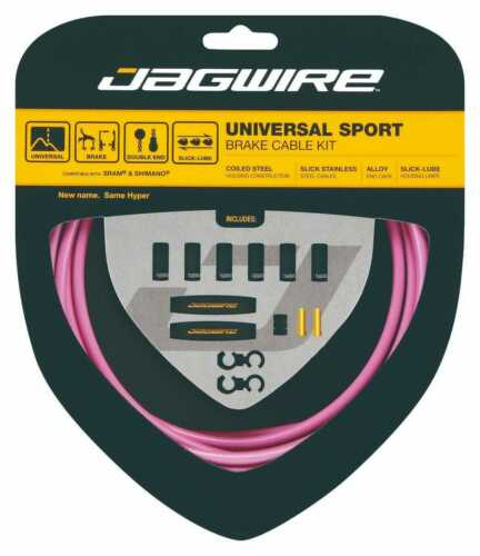 Jagwire Universal Sport Brake Cable Kit For Road /& Mountain Bikes