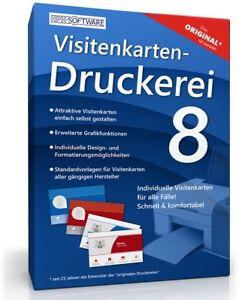 Details Zu Visitenkarten Druckerei 8 Schnell Und Bequem Als Download