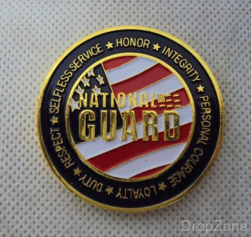 New United States National Guard Challenge Coin
