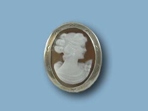 Ciondolo-cammeo-argento-925-x-cameo-sardonico-spilla-mm-25x20-donna-Made-Italy