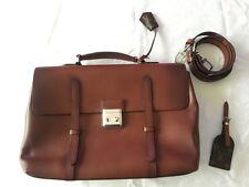 100% Authentic Louis Vuitton Cartable Ombre Leather LV Men Shoulder Bag M50451