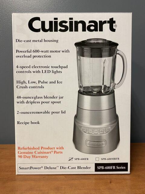 Cuisinart SPB-600FR SmartPower DieCast Blender Manufacturer Refurbished
