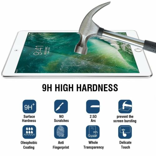 iPad Air 2 ,Tempered Glass Screen Protector Poetic® Ultra Thin iPad Pro 9.7