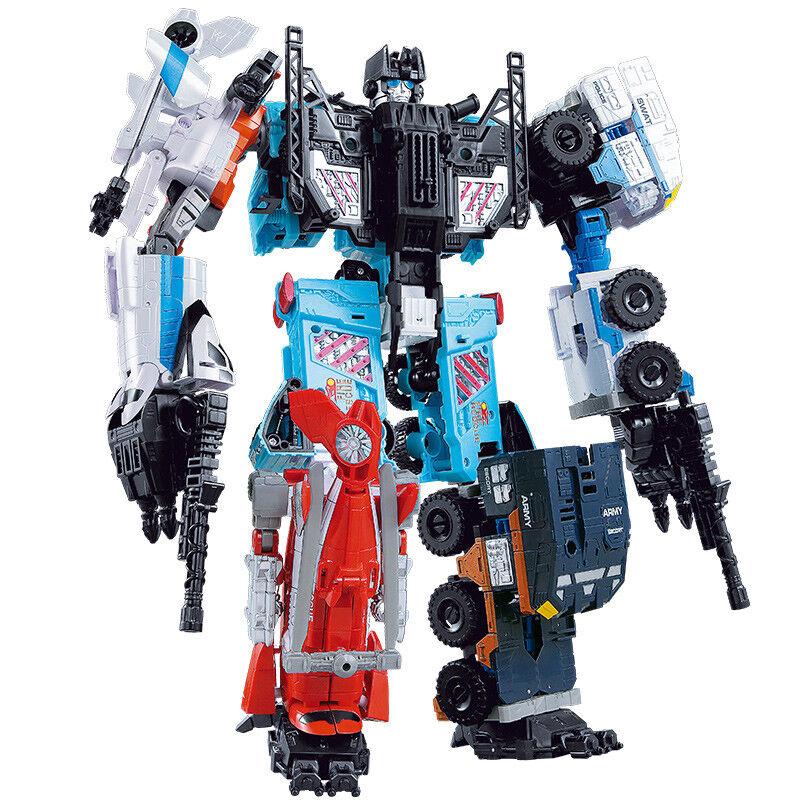 WJ Oversized Combiner Wars Predectobots ROOK ALPHA BLADE Defensor Dinobots Toys