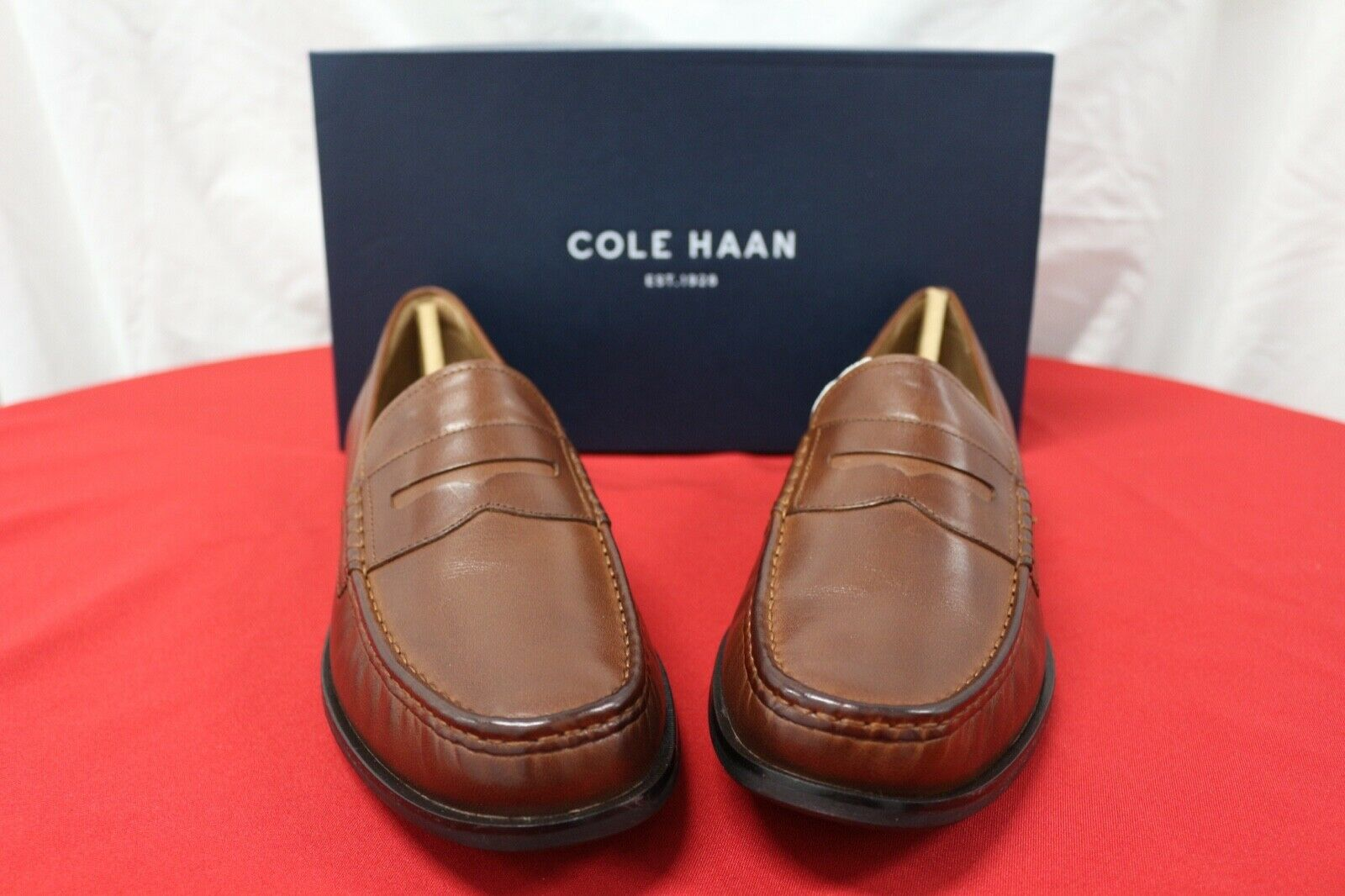 Cole Haan Men's Pinch Friday Penny Loafer, Woodbury Handstain, 9.5 M