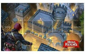 Details about WHITE WIZARD GAMES HERO REALMS FIRE BOMB PLAY MAT