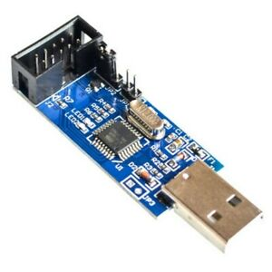 10Pin-Cable-Convert-to-Standard-6P-ISP-Adapter-Board-USBASP-AVR-Programmer-Tool