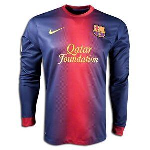 nike fc barcelona long sleeve home jersey 2012 13 ebay details about nike fc barcelona long sleeve home jersey 2012 13
