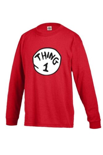 Thing 1 Thing 2 ....Up To Thing 10 Kids Long Sleeve Best Quality FREE SHIPPING!!