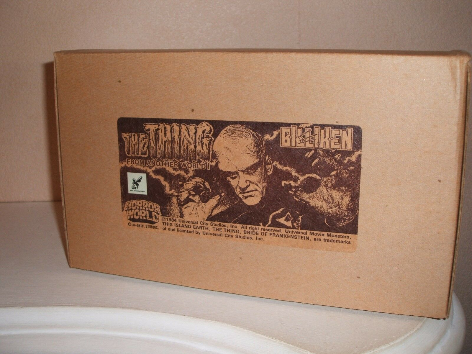 BILLIKEN THING FROM ANOTHER WORLD VINYL MODEL UNMADE IN BOX RARE
