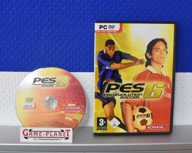 Pro Evolution Soccer 6 PC 2006 Sport Fußball Soccer OVP & Anleitung a NEUWERTIG