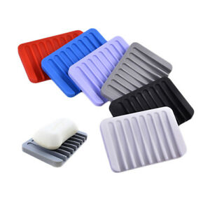 3PCS-Silicone-Drain-Waterfall-Shower-Soap-Saver-Scent-Perfumed-Soap-Dish-Holder