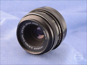 M42 Mount Carl Zeiss Jena Tessar 50mm f2.8 Prime Standard Lens PARTS ONLY - 787