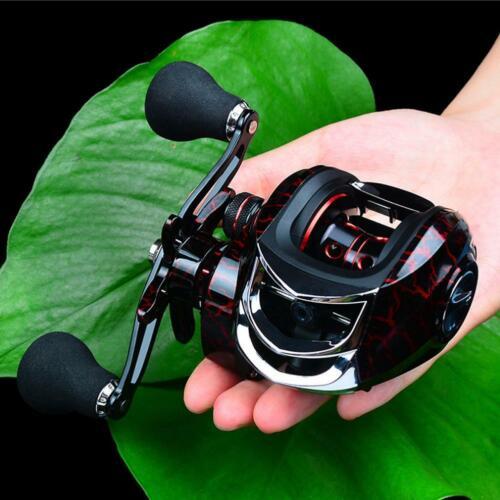 High Speed Bait Casting Fishing Reel 20 Ball Bearing Lure Wheel Stainless W0K4