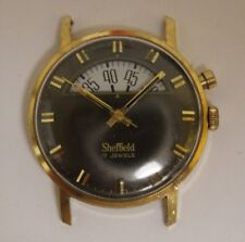 "Vintage Rare Sheffield ""Parking Meter"" 17 Jewels 34mm Watch LOT#907"
