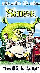 Shrek Vhs 2001 For Sale Online Ebay