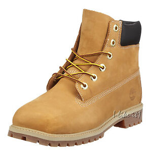 Timberland-6-In-Classic-FTC-6-In-Premium-WP-12709-Gr-31-Unisex-Kinder-Boots-Neu