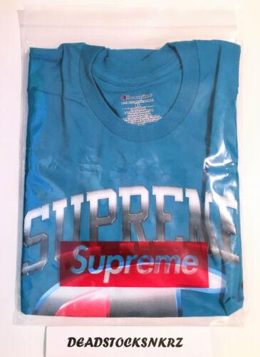 Supreme X Champion Chrome Tee Dark Teal SS19KN4 Size XL Extra Large