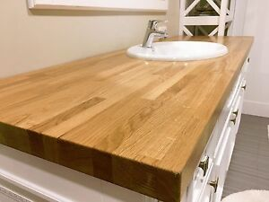 Captivating Image Is Loading SOLID OAK KITCHEN WORKTOP CLEARANCE CHEAPEST REAL WOOD