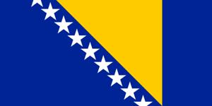 4-adhesivos-para-el-coche-o-la-moto-034-Bosnia-y-Herzegovina-Bandera-Sticker-8cm