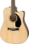 thumbnail 1 - Fender CD60SCE Classic Design Dreadnought Acoustic Electric Guitar in Natural