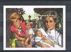 Mongolia-postfris-1997-MNH-Prinses-Diana-23